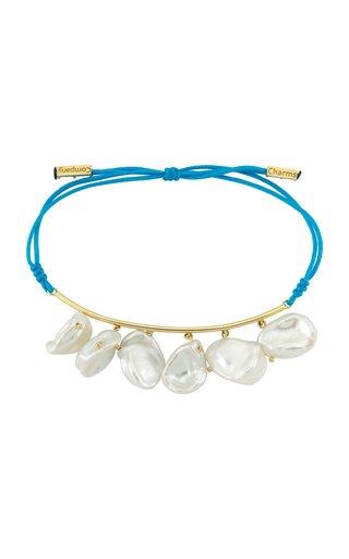Pearls of Joy 14K Yellow-Gold String Bracelet