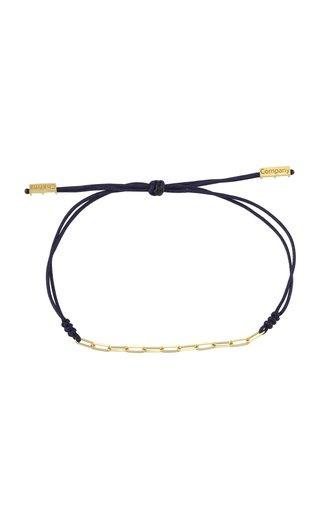 Pretty Little Charms 14K Yellow-Gold String Bracelet