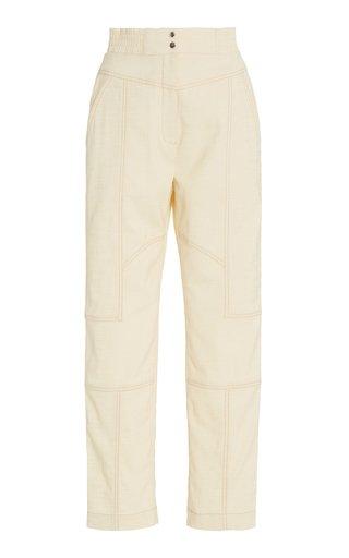 Celina Grasscloth Utility Pants