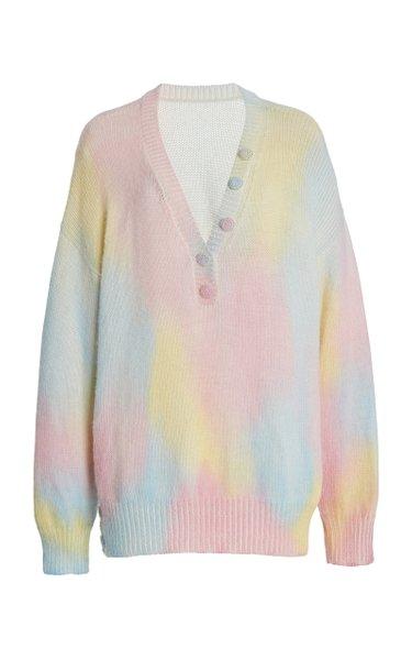 Naveen Tie-Dye Alpaca-Blend Sweater