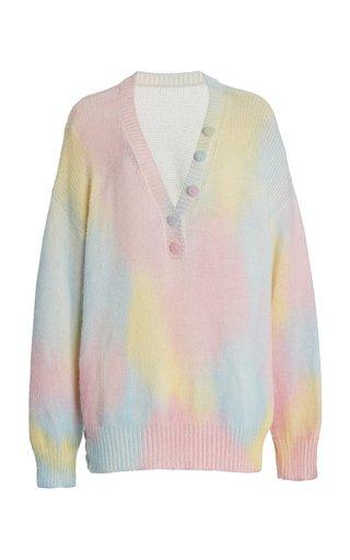 Naveen Oversized Tie-Dye Alpaca-Blend Sweater