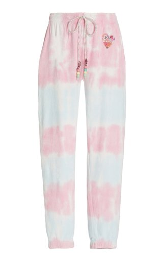 Santinella Tie-Dyed Cotton Jogger Pants