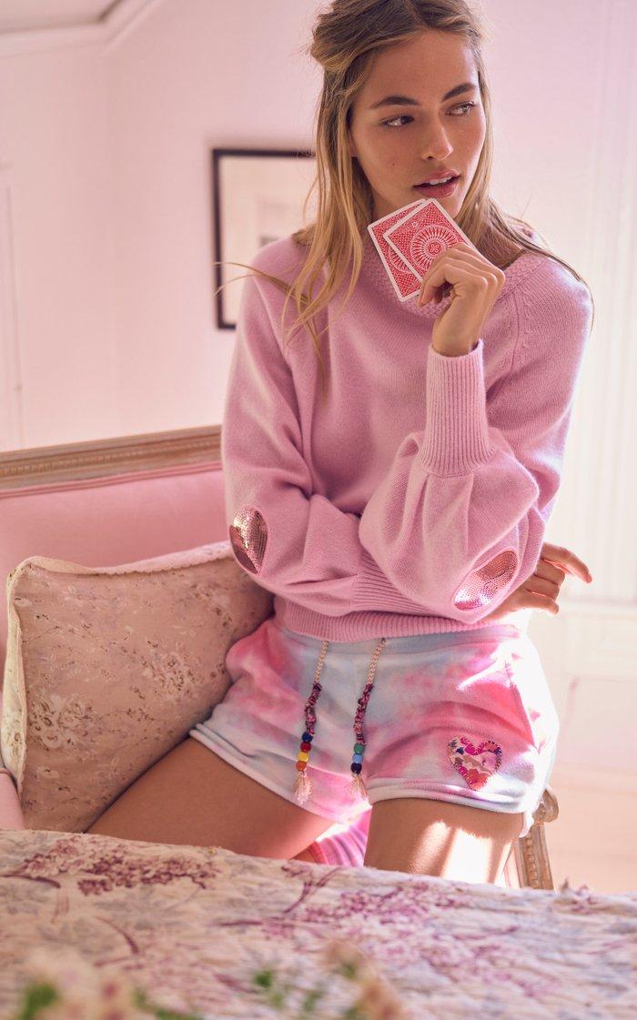 Ashland Puff-Sleeve Wool-Cashmere Sweater