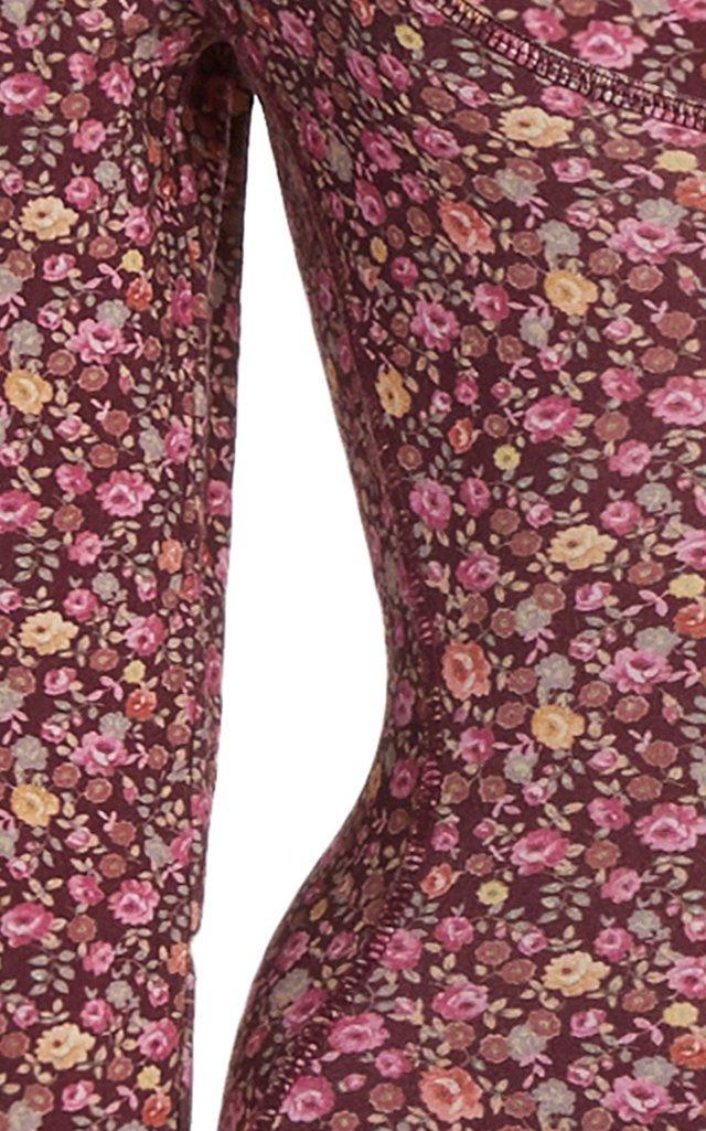 Helene Floral Stretch-Jersey Bodysuit