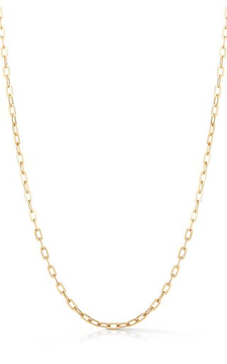 14K Yellow Gold Chunky Elongated Link Chain