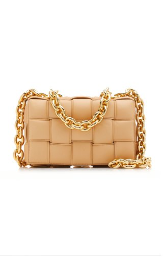 The Chain Cassette Leather Bag