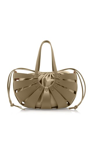 The Shell Medium Leather Bag