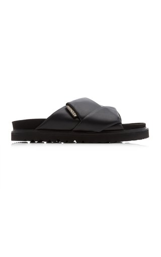 Padded Leather Sandals