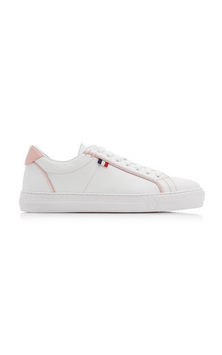Alodie Leather Low-Top Sneakers