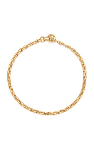 Chain Gold-Plated Collar Necklace