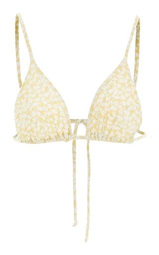 Anais Printed Bikini Top