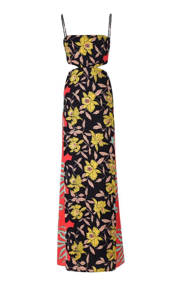 Riqueza Natural Recycled Georgetter Maxi Dress