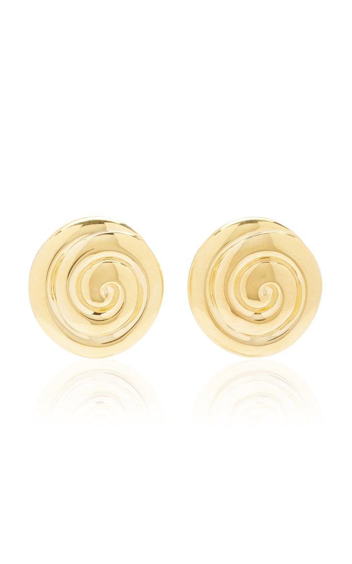 Uzu 18k Gold Vermeil Earrings