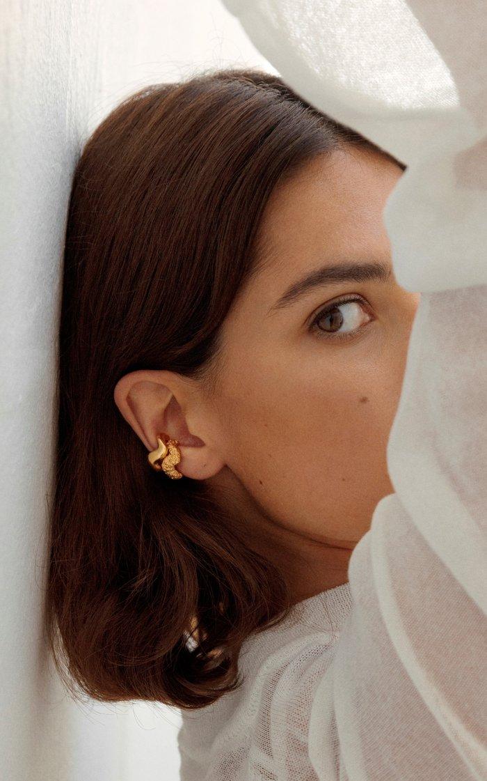 Aurea 18k Gold Vermeil Ear Cuff