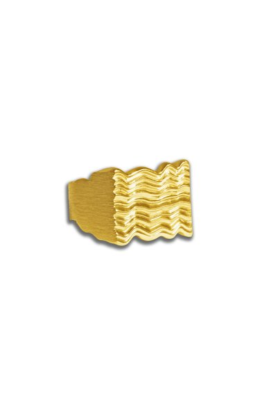 Unda 18k Gold Vermeil Ring
