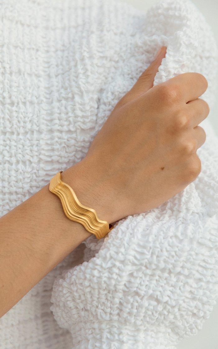 Abluvio 18k Gold Vermeil Bracelet