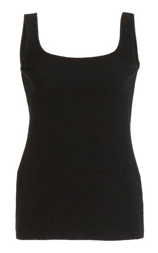 Cotton-Knit Tank Top
