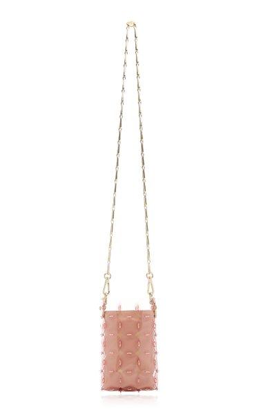 Mini Disc Paillette-Embellished Bag
