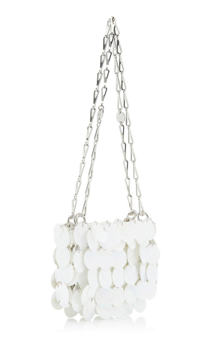 Nano Sparkle Paillette-Embellished Bag