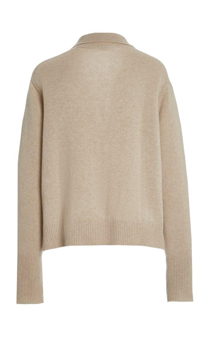 Serena Polo-Neck Cashmere Sweater