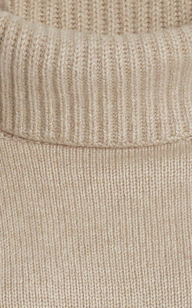 Jennie Oversized Cashmere Turtleneck Sweater