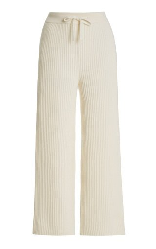 Lucy Ribbed Cashmere Pants
