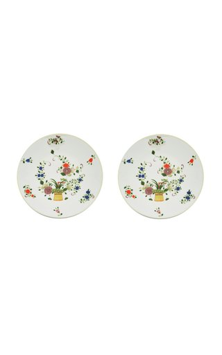Set Of 2 Chinoiserie Garden Dinner