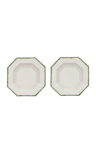Set Of 2 Bamboo Octagon Soup