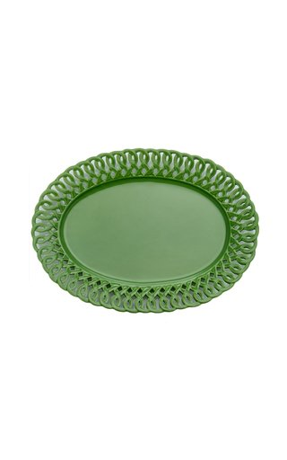 Pierced Oval Platter