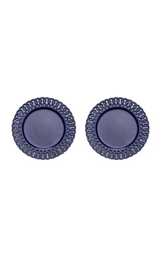 Set Of 2 Pierced Charger Plate