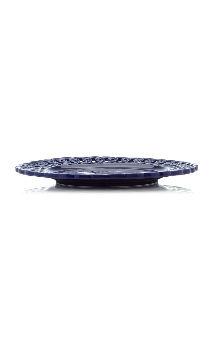 Set Of 2 Pierced Dinner Plate