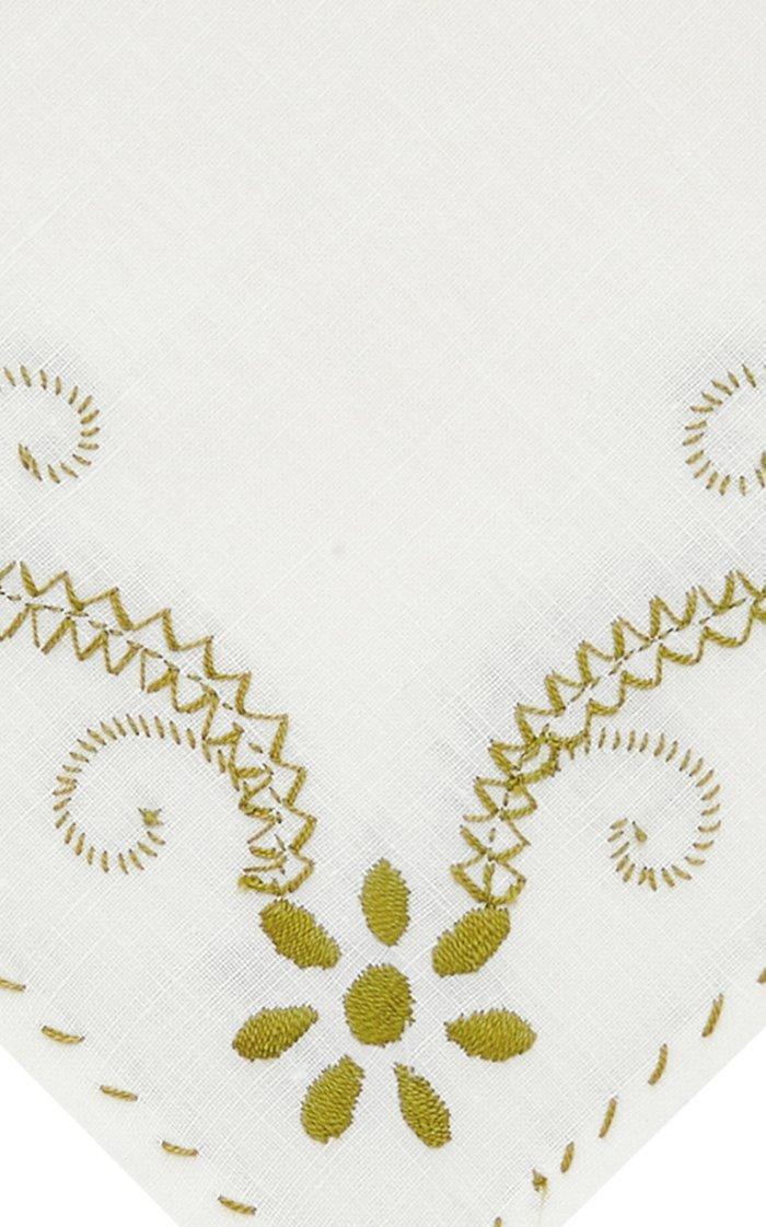 Set Of 2 Floral Napkin
