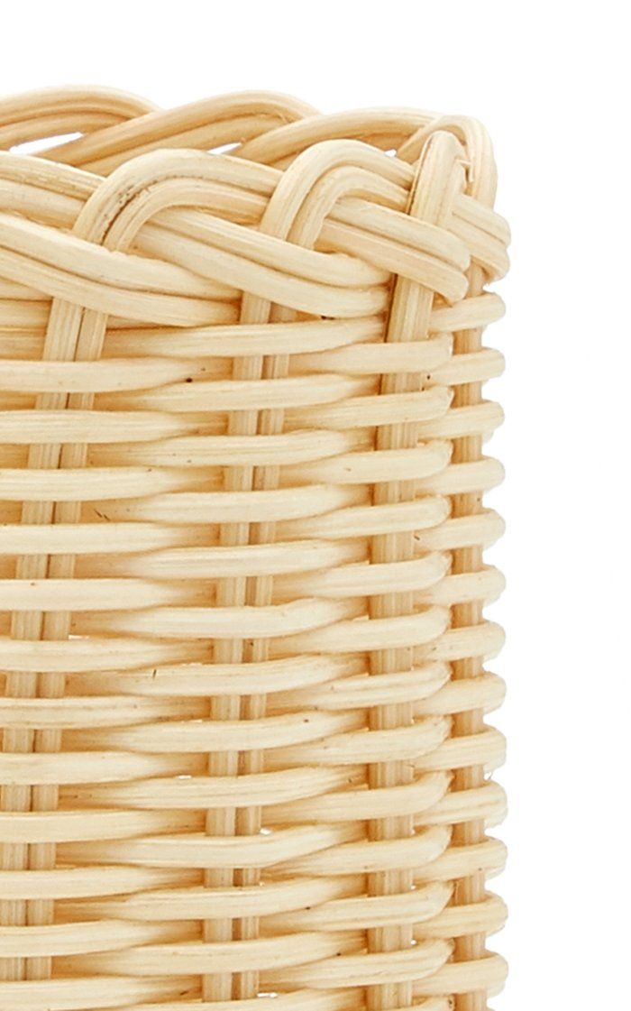 Rattan Can Holder