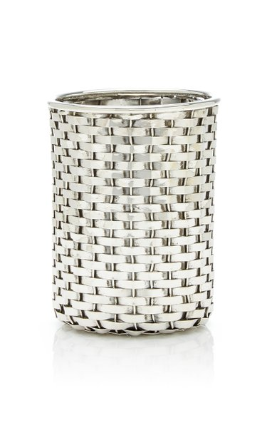 Sterling Silver Can Holder