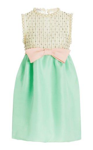 Gazar Embroidered Mini Dress
