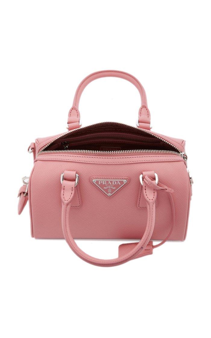 Saffiano Leather Shoulder Bag