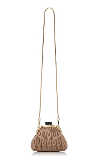 Matelassé Leather Mini Bag