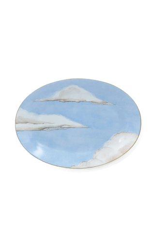 Ciels Bleus Oval Platter