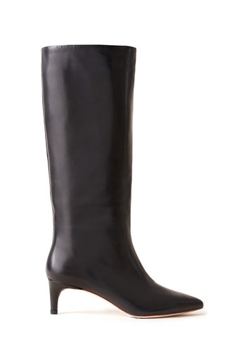 Gloria Leather Knee High Boots