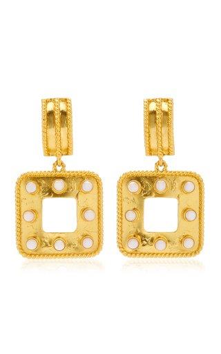Hope 24K Gold-Plated Pearl Earrings