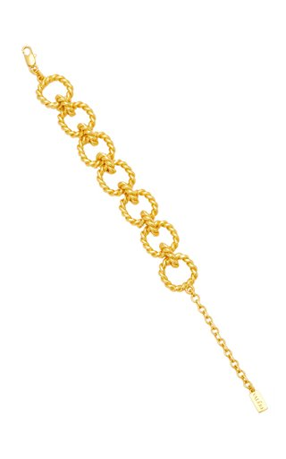 Avani 24K Gold-Plated Chain Bracelet