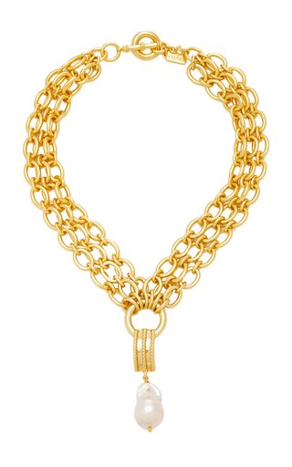 Chloe 24K Gold-Plated Necklace