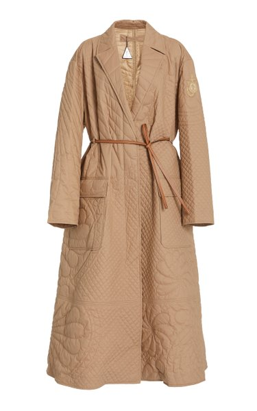 1 Moncler JW Anderson Penbryn Quilted Cotton Trench Coat