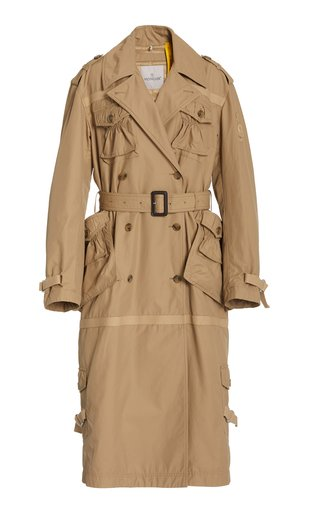 1 Moncler JW Anderson Exclusive Cassidy Cotton Trench Coat