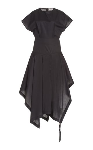1 Moncler JW Anderson Cotton Midi Handkerchief Dress