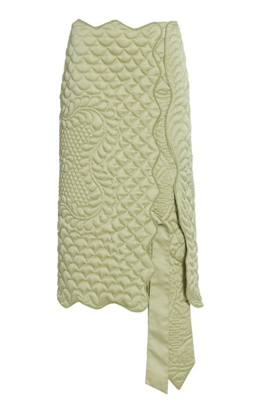 1 Moncler JW Anderson Exclusive Gonna Quilted Midi Skirt