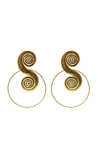 Tolu 24K Gold-Plated Earrings