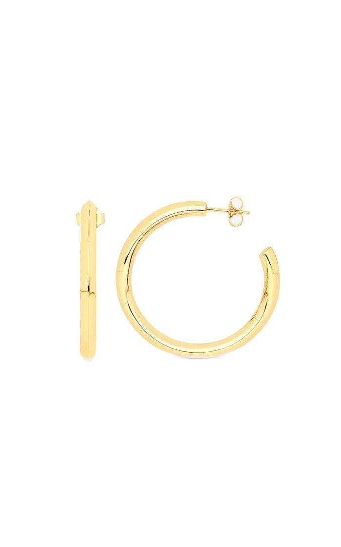 Vero 14K Vermeil Hoop Earrings