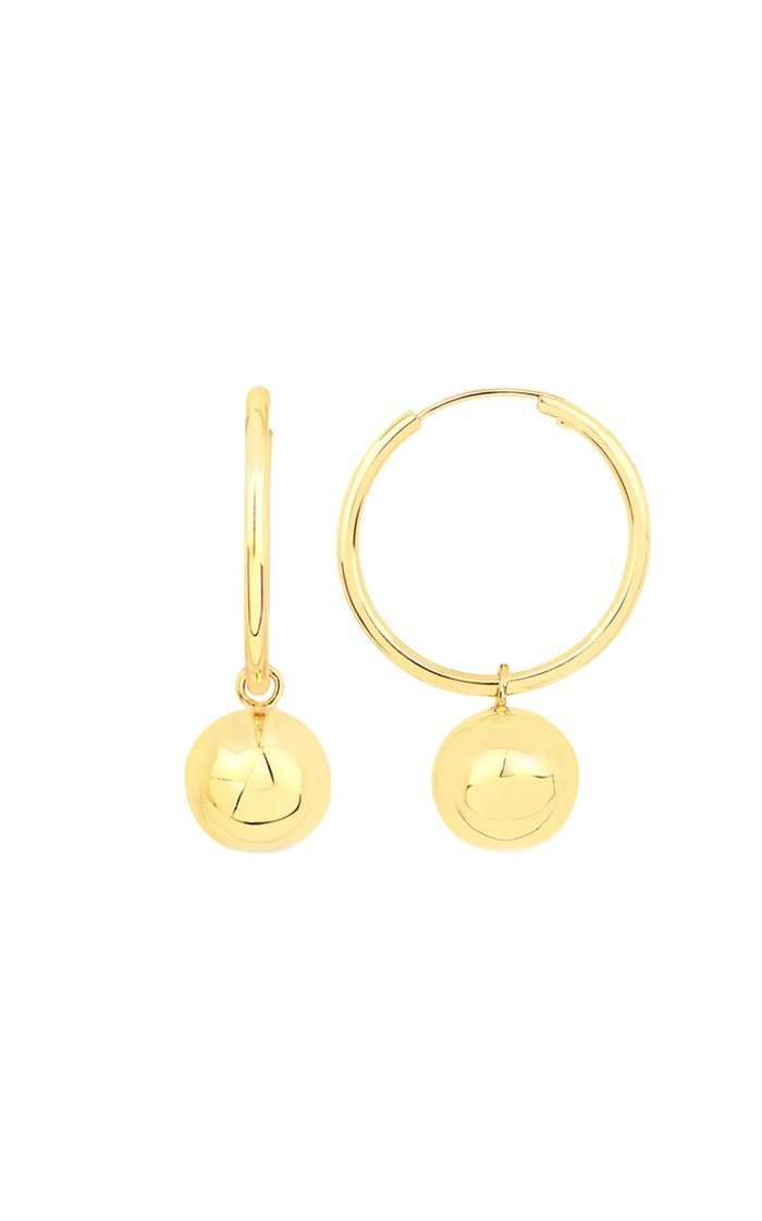Disco 14K Vermeil Hoop Earrings