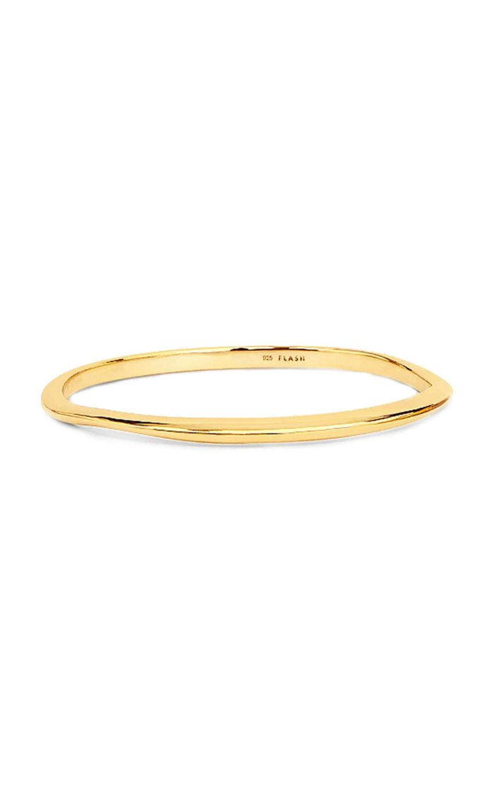 .01 Waves 14K Vermeil Bangle